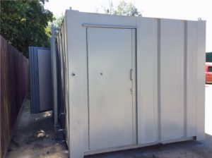 Anti-Vandal Toilet Block